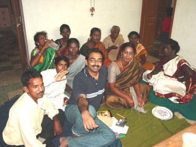 Meeting in Chennai with transvestites participating.jpg