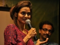 Film actor Madhoo addressing the audience at the 2012 event.jpg